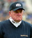 LaVell Edwards MS'60, former Brigham Young University head football coach