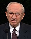 Gordon B. Hinckley BA'32, 15th president of The Church of Jesus Christ of Latter-day Saints