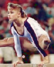 Missy Marlowe BS'94, champion collegiate gymnast and Olympic competitor