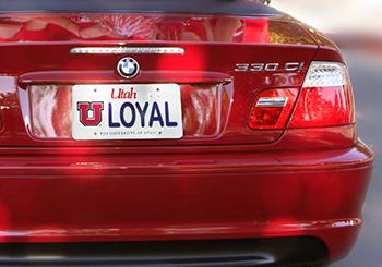 Ulink licenseplates for Utah state department of motor vehicles